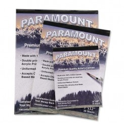 "PARAMOUNT COTTON-CANVAS-PAD 22x30cm (9""x12"")"