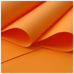 FOAMIRAN 30x35cm. 0.6mm. - ORANGE