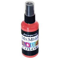 AQUACOLOR SPRAY 60ml _ ROT