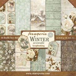 "SCRAPBOOKING-BLOCK ""WINTER HOLZ"""
