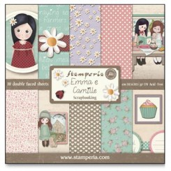 SCRAPBOOKING PAPIER PACK - EMMA CAMILLE