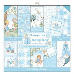 SCRAPBOOKING-BLOCK - BABY BOY SBBL40