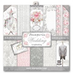 SCRAPBOOKING-BLOCK - WEDDING SBBL18