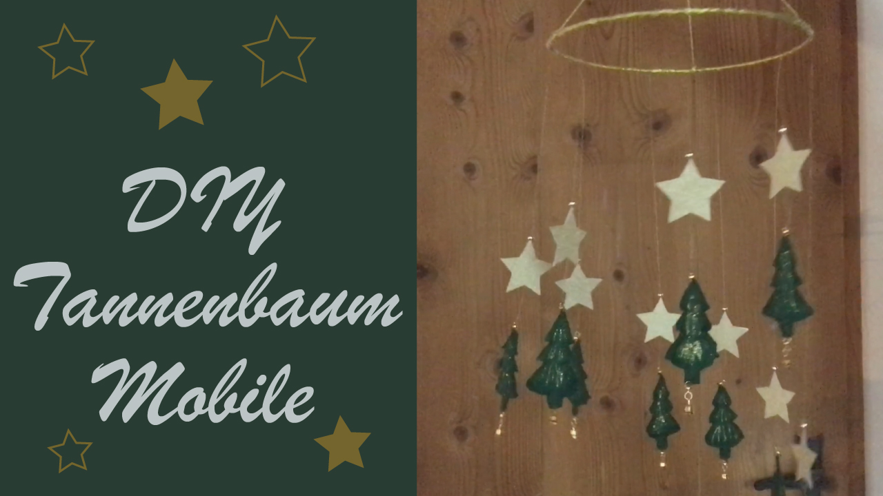 TANNENBAUM Mobile | CHRISTMAS TREE Mobile